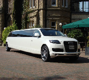 Audi Q7 Limo in East Midlands