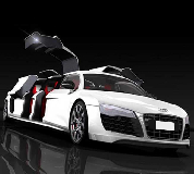 Audi R8 Limo Hire in East Anglia and Essex