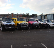 Jeep Limos and 4x4 Limos in Doncaster
