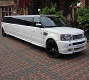 Range Rover Limo in East Anglia and Essex